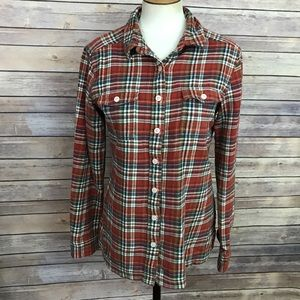 Patagonia Plaid Button Front Shirt Size 6